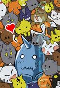Club de Fan's Alphonse (?) XD Keychain_FMA_al_sample